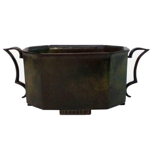 Bronze Vase By Just Andersen Victoria Son