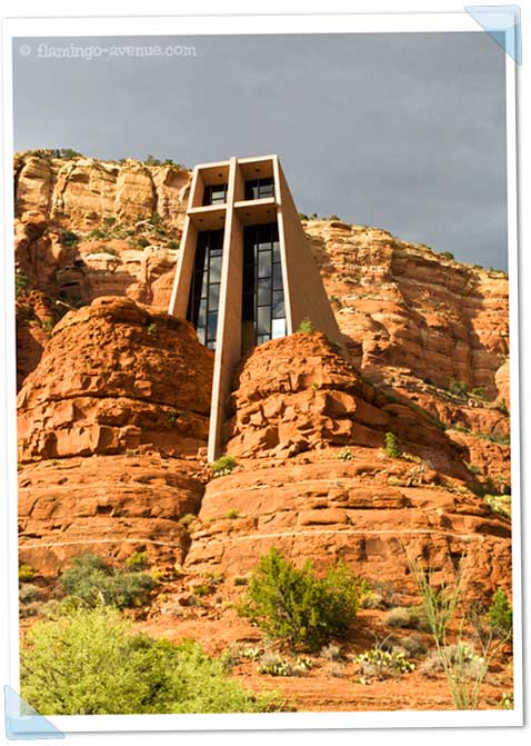 holy cross chapel, sedona