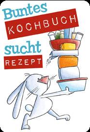 Buntes Kochbuch sucht Rezept