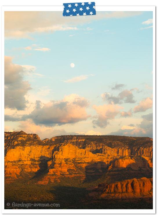 Sedona Sonnenuntergang