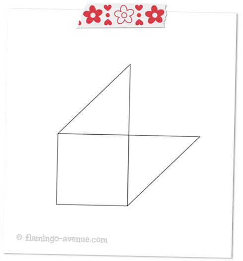 diy lesezeichen ecken aus papier johanna fritz illustration. Black Bedroom Furniture Sets. Home Design Ideas