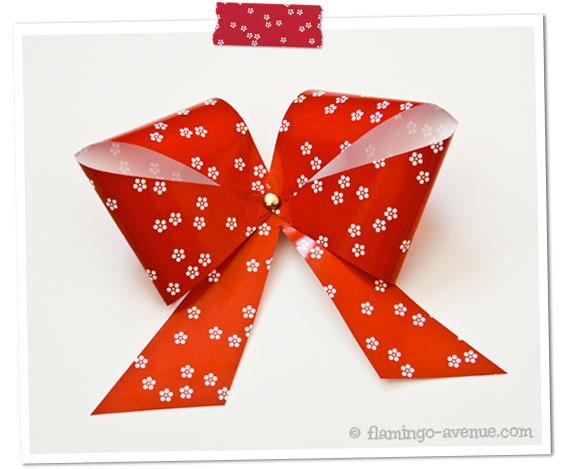 DiY: Papierschleife