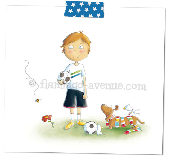 Fussball-Kinderbuch