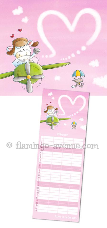 Familienplaner 2012 Februar