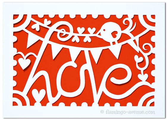 Papercut Love