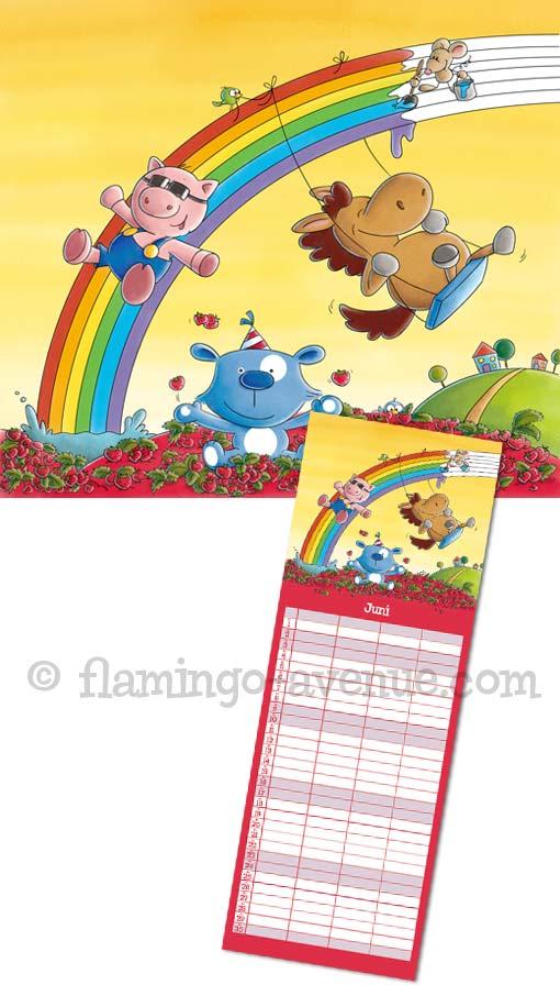 Familienplaner 2012 Juni