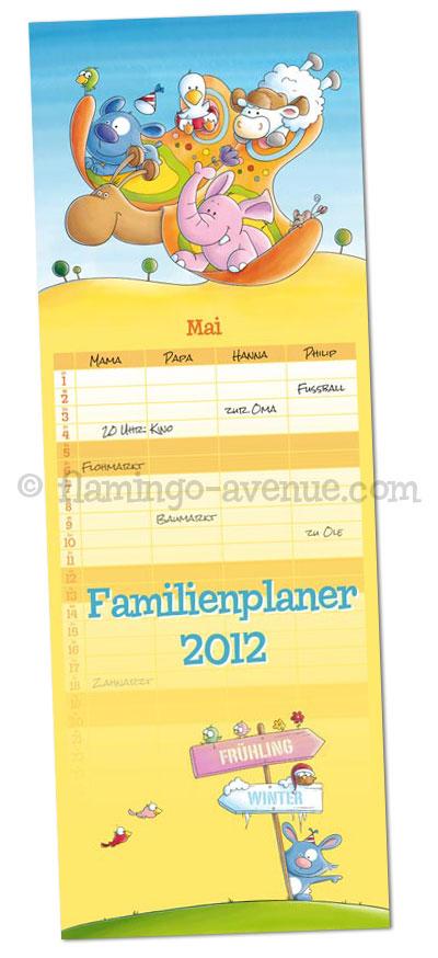 Cover Familienplaner 2012