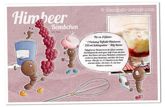 Rezept: Himbeerboembchen