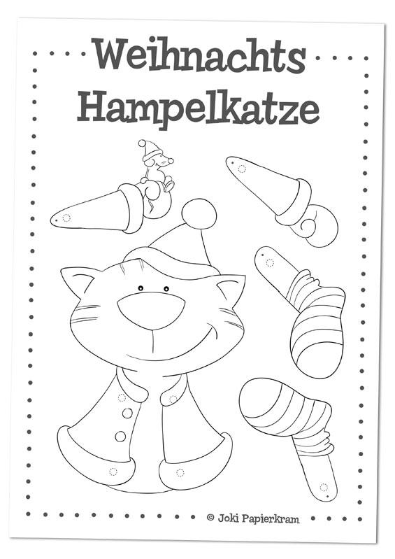 Hampelkatzen-Vorlage