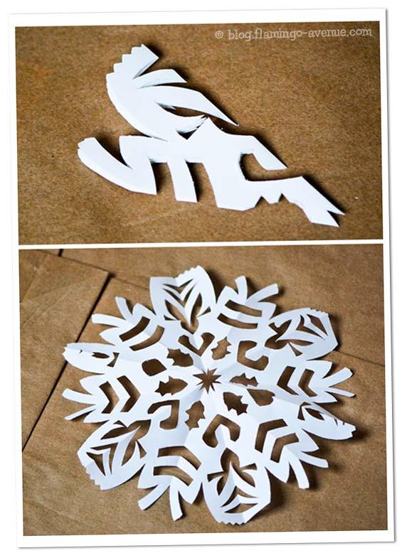 DiY: Schneeflocke