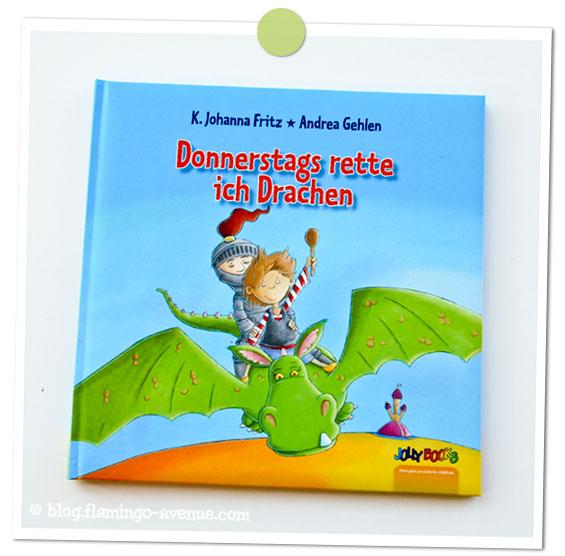 Kinderbuch: Donnerstags rette ich Drachen