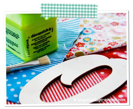 Decoupage-Materialien
