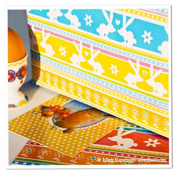 Hasen-Geschenkpapier von Joki Papierkram