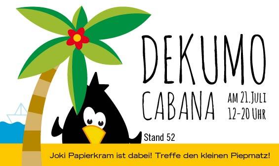 dekumo Cabana mit Joki Papierkram
