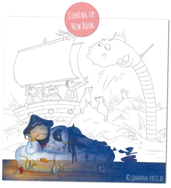 illustration füŸr Kinderbuch