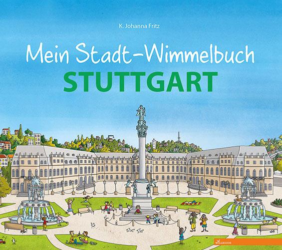 Stuttgart-Wimmelbuch Cover