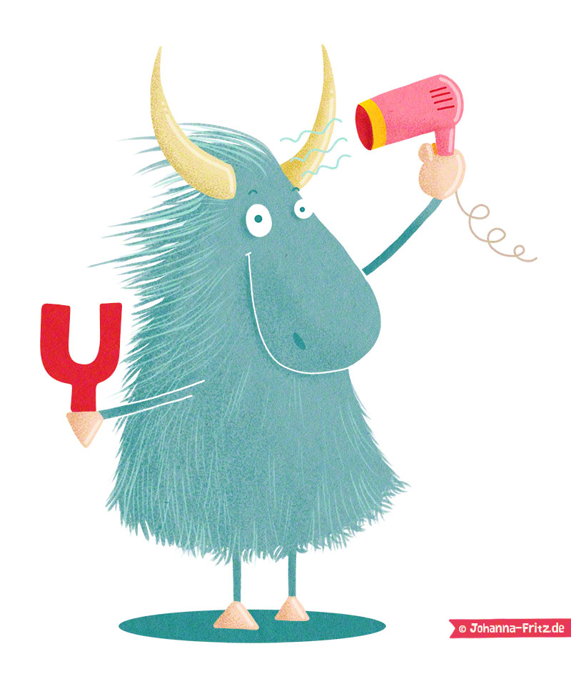 """Y is for Yak"" by Johanna Fritz"