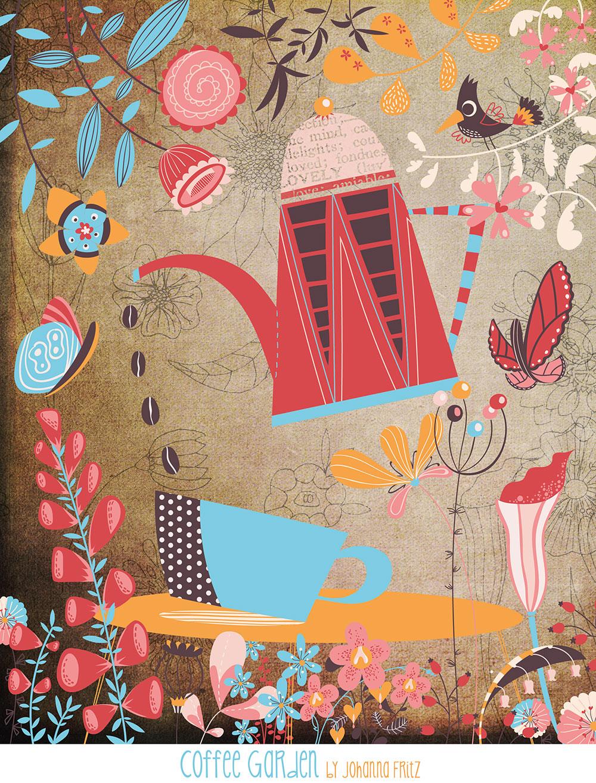 Coffe Garden by Johanna Firtz