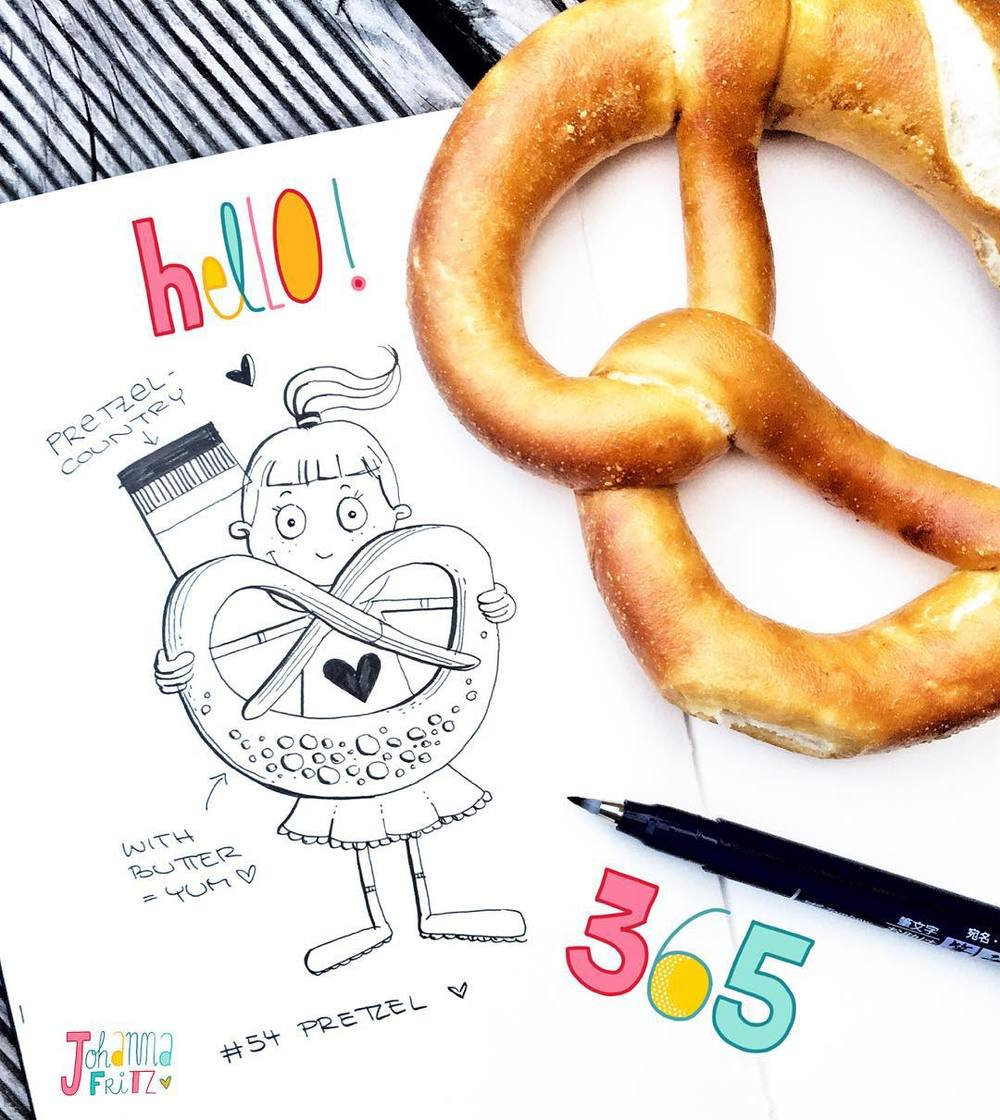 Doodle_54365_Pretzel__there_is_no_pretzel_emoji______365doodleswithjohannafritz__I_live_in_a_Pretzel-Country._I_am_located_in_the_South_of_Germany._No__not_in_Bavaria__but_just_next_to_it__._And_we_are_famous_for_our_Pretzels._We_eat_them_with_butter.jpg