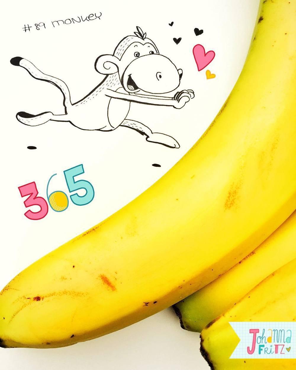 Topic: Monkey- by Johanna Fritz Illustration