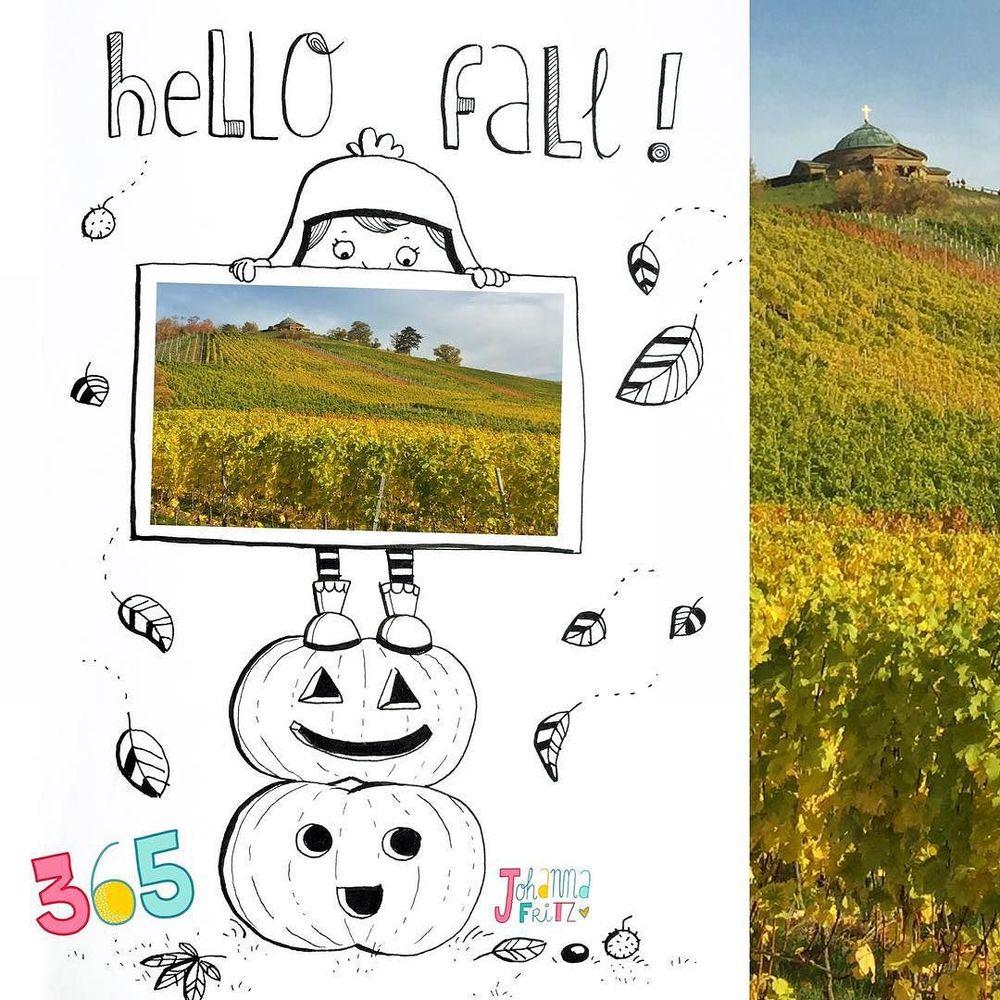 Topic: Hello fall- by Johanna Fritz Illustration