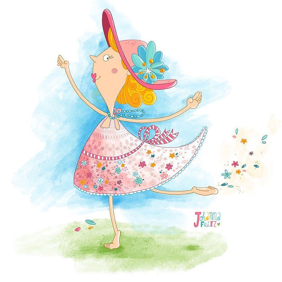 Dress- By Johanna Fritz Illustration