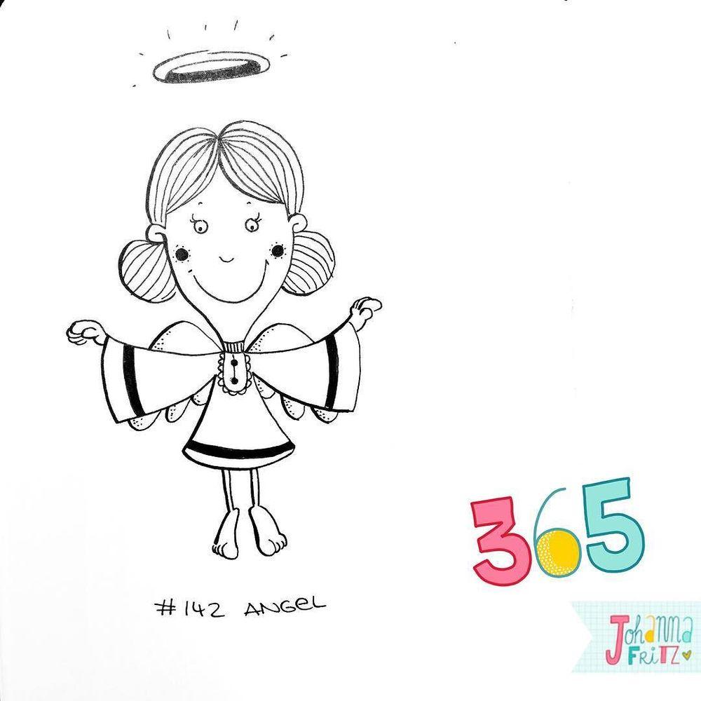 Topic: Angel- By Johanna Fritz Illustration