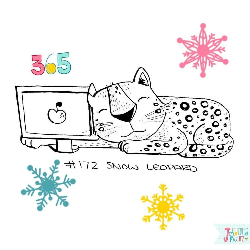 Topic: Snow Leopard- By Johanna Fritz Illustration