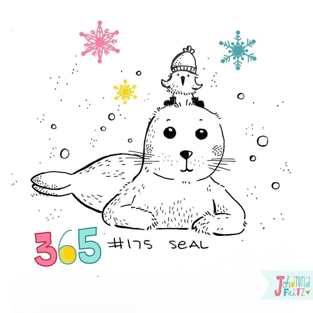 Topic: Seal- By Johanna Fritz Illustration