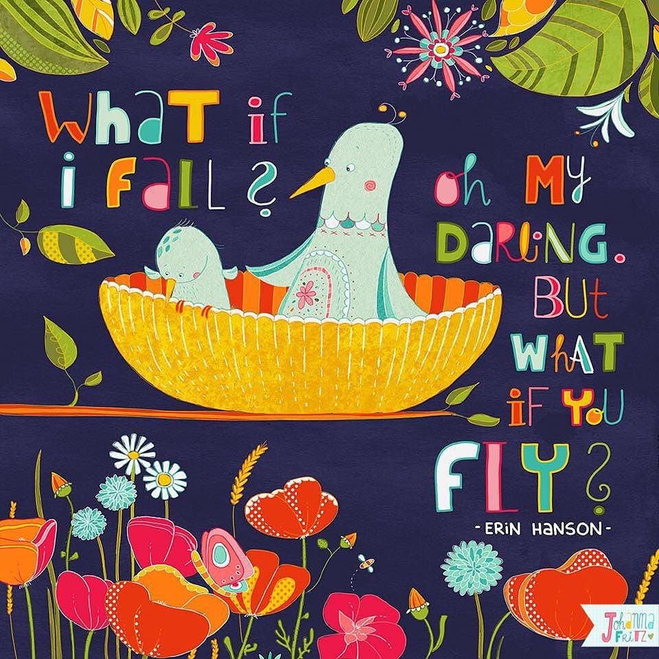 Quote- By Johanna Fritz Illustration