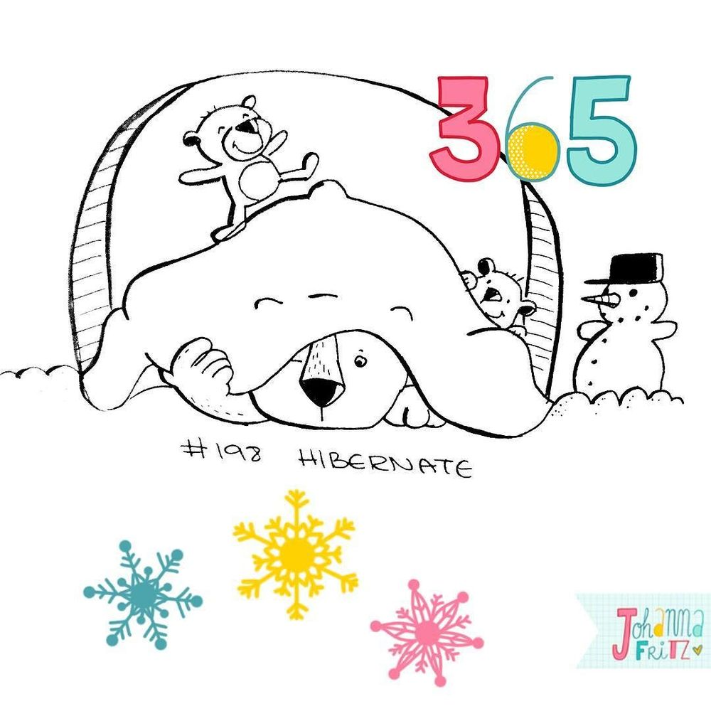 Topic: Hibernate- By Johanna Fritz Illustration