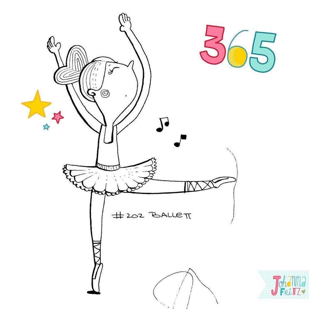 Topic: Ballet- By Johanna Fritz Illustration