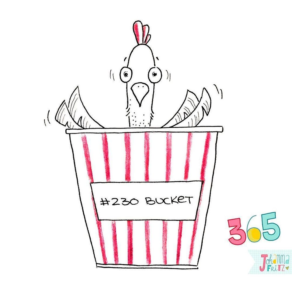 Topic: Bucket- By Johanna Fritz Illustration