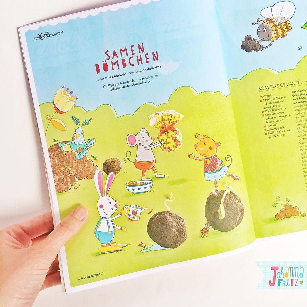 Editorial Illustration- By Johanna Fritz Illustration