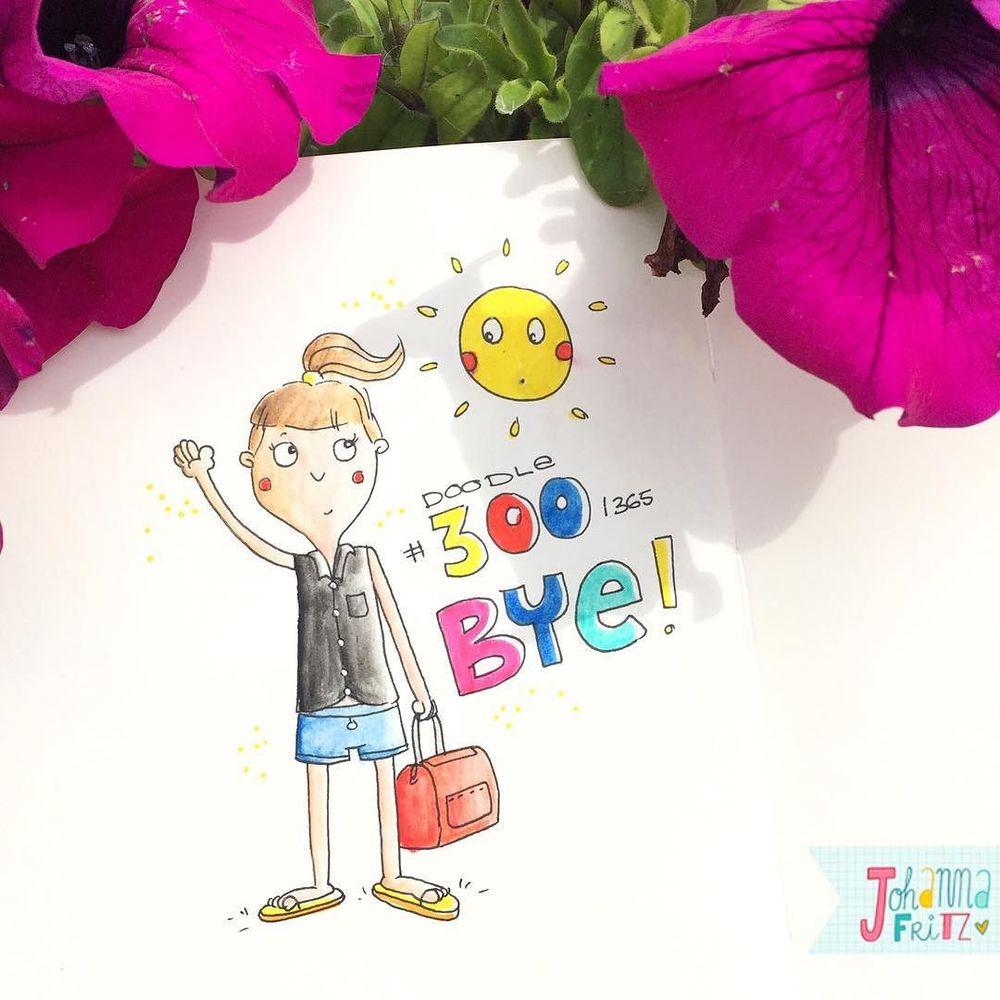 Topic: Bye bye- By Johanna Fritz Illustration