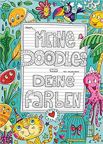 Malbuch: Meine Doodle - Deine Farben • Eigenverlag
