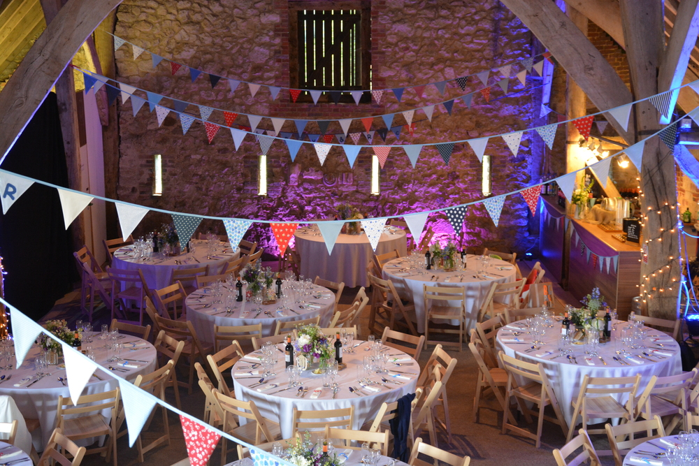 Titchfield Barn Wedding