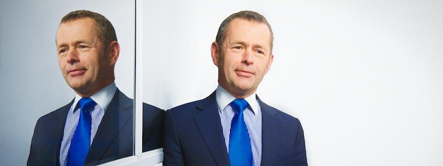 Insurance Broker David Christmas, photographed for Aviva