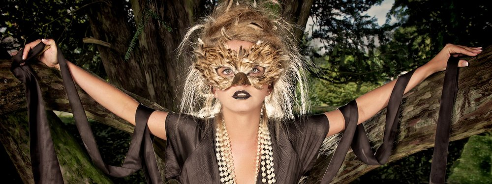 Heritage Animal Mask Photo Shoot for Mystic Magic Masquerade.