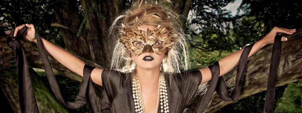 Heritage Animal Mask Photo Shoot for Mystic Magic Masquerade.