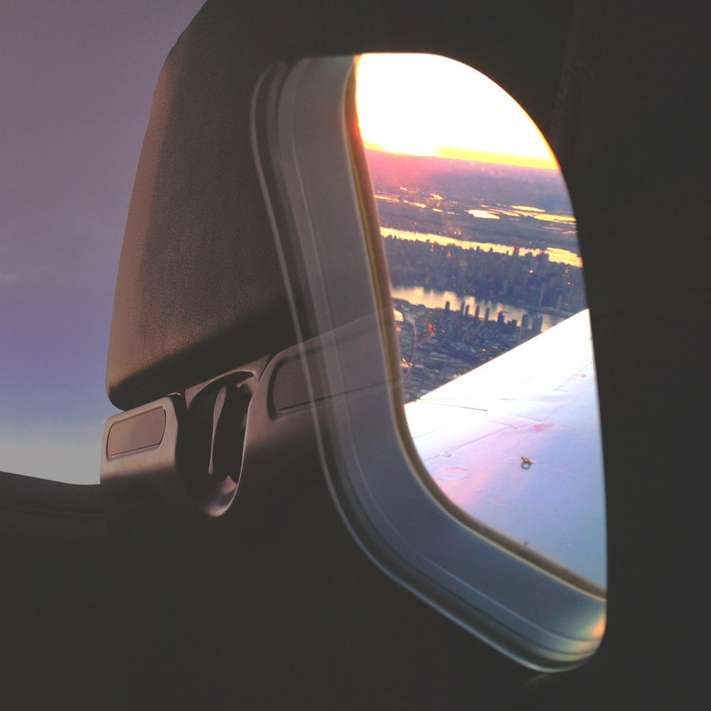 Hello city sunset!