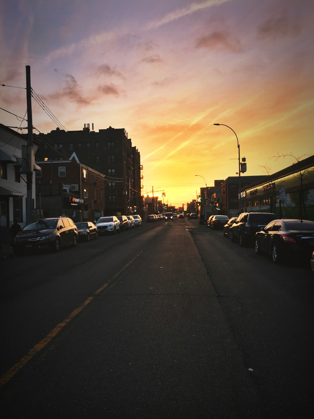 Sunset, Queens, Spring 2016