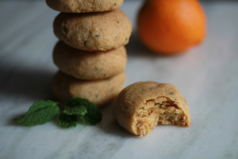 Clementine Mint Cookies