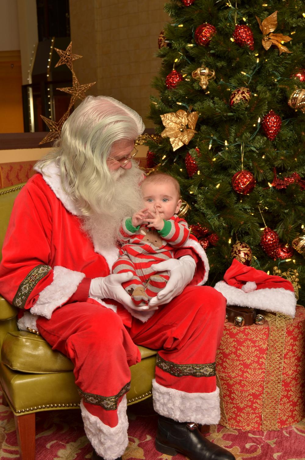 Santa's Little Helper at the Marriott