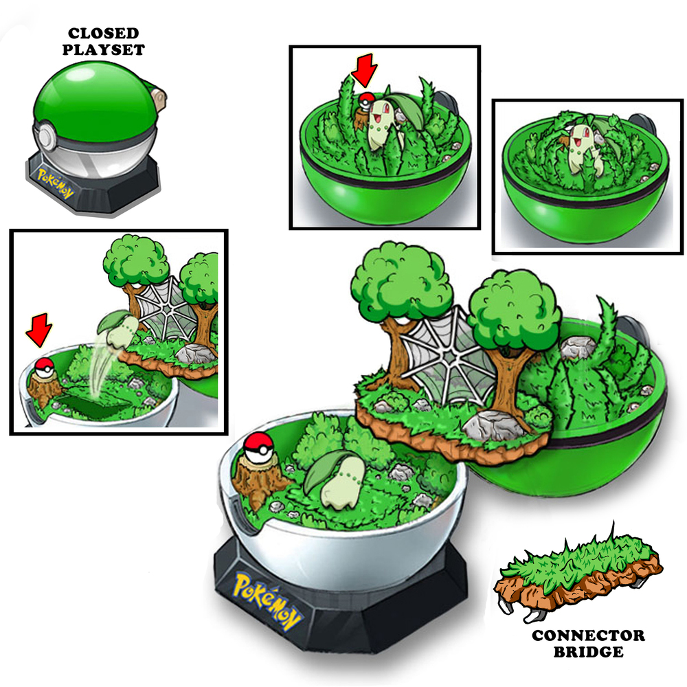 Mini playset (Grass Type)
