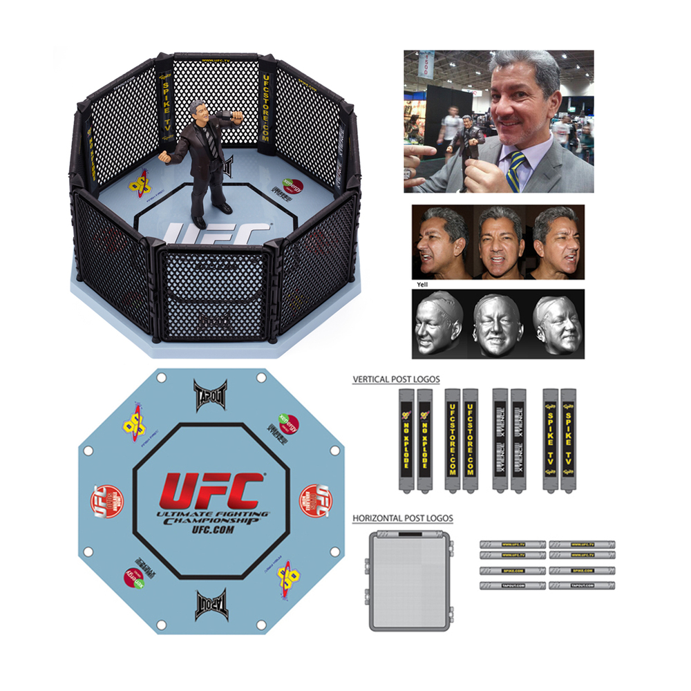 UFC Basic Octagon (Bruce Buffer)