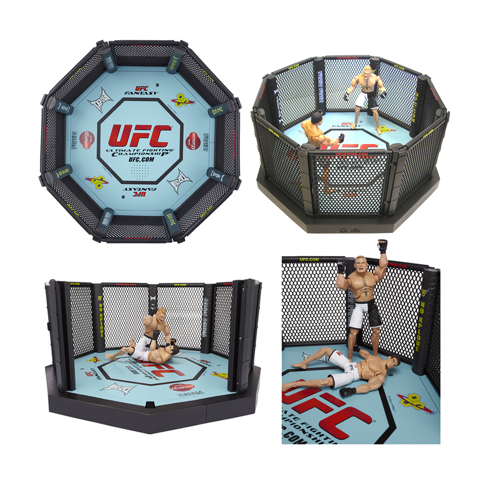 UFC Electronic Reaction Octagon Playset