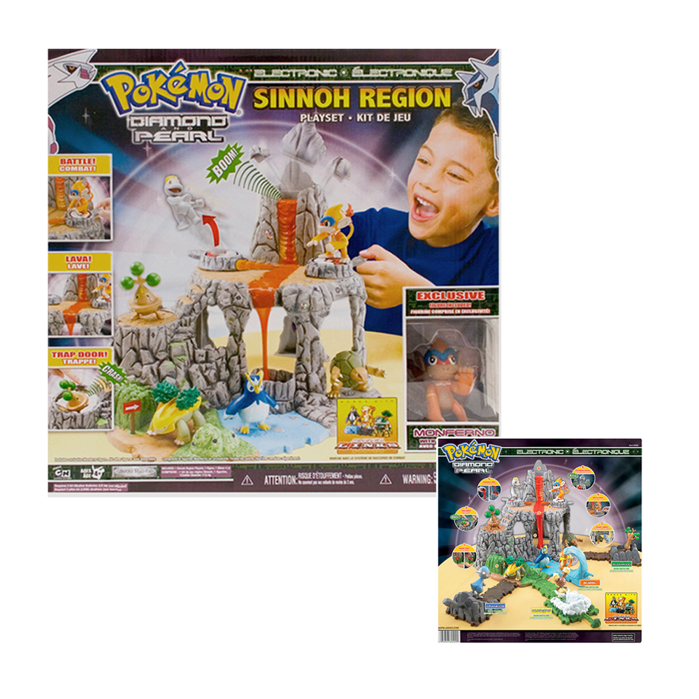 Pokemon Sinnoh Region Playset