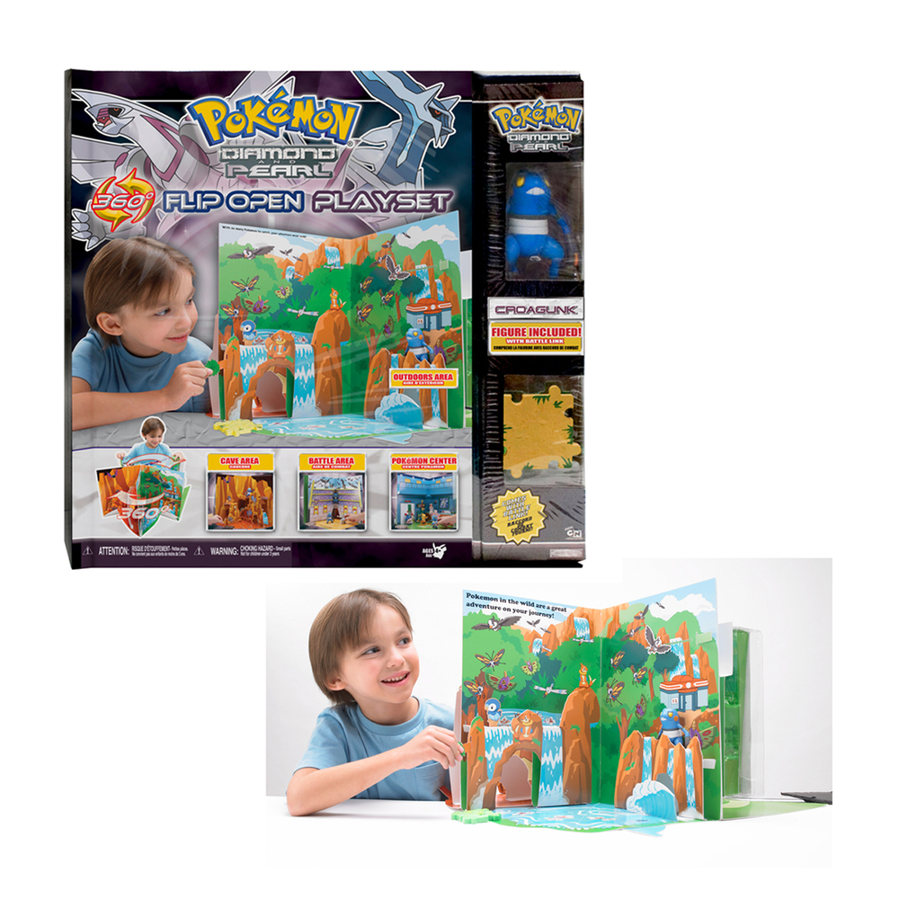 Pokemon Flip Open Playset