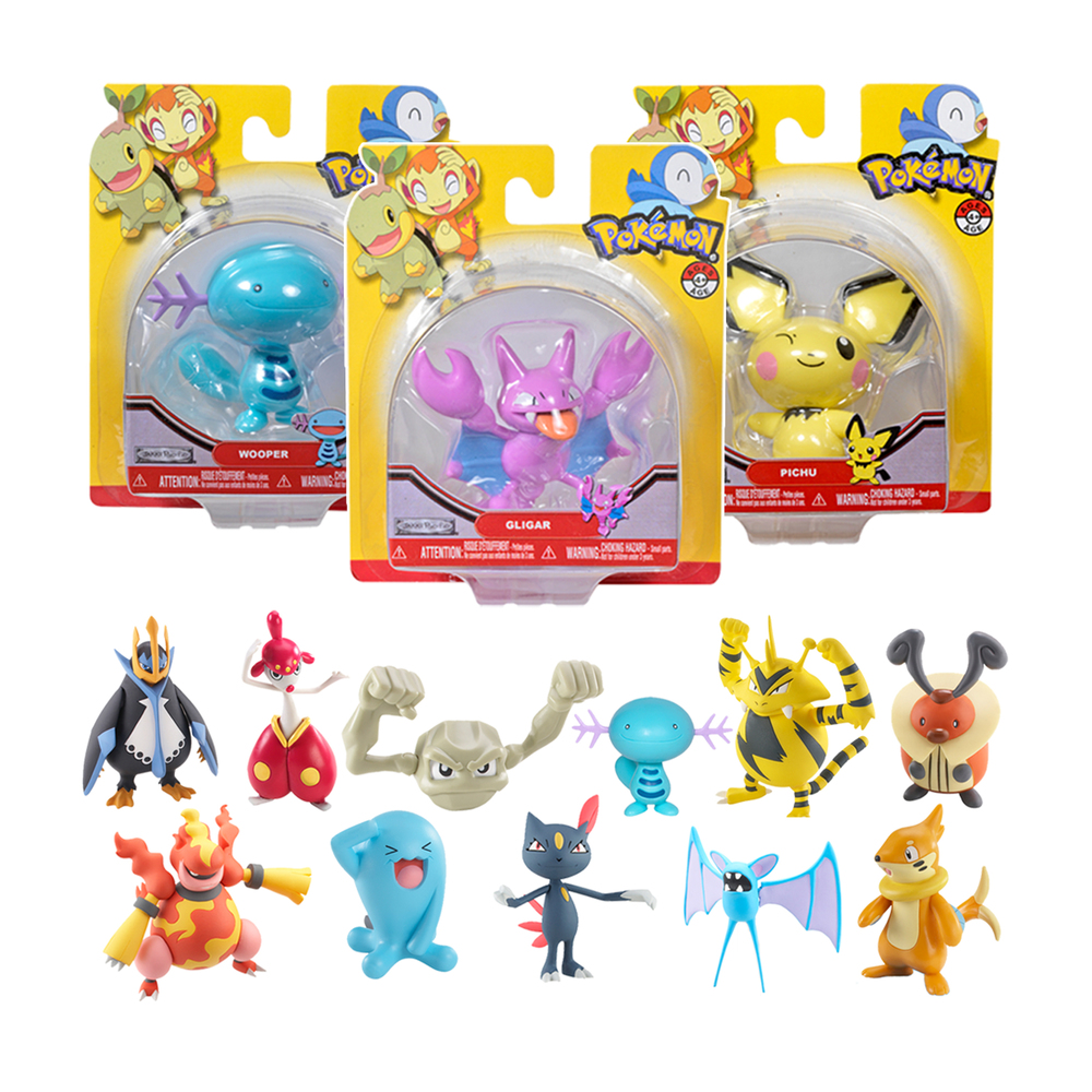 "Pokemon 3"" Figures"